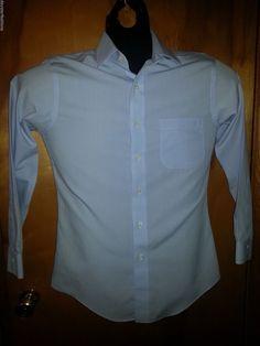 Brooks Brothers Slim Fit Non Iron Blue Mini Check Cotton Dress Shirt 14.5/32 #BrooksBrothers #daystarfashions $17.99  FREE SHIP