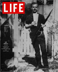 Life Magazine Cover Copyright 1964 Lee Harvey Oswald - Mad Men Art: The Vintage Advertisement Art Collection Life Magazine, Issue Magazine, History Magazine, Magazine Covers, Old Magazines, Vintage Magazines, Kennedy Assassination, Life Cover, Life Photo