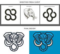 Elephant mark by Brian Steely