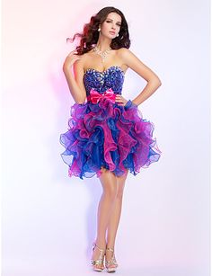 Find More Homecoming Dresses Information about Hot Sale Short Pink ...