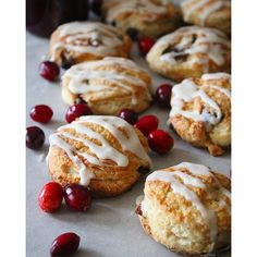 Eggnog And Cranberry Scones via @feedfeed on https://thefeedfeed.com/thejamlab/eggnog-and-cranberry-scones
