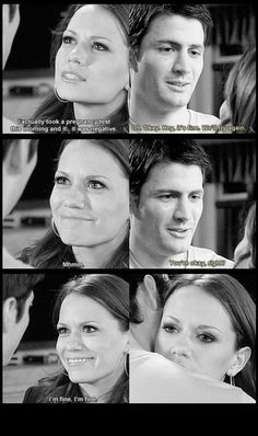 When Nathan says he wants more kids and Haley tells him she's not pregnant :(