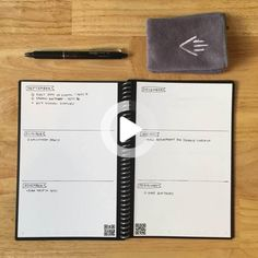 The secret's out: Crossing things off of your to-do list is super satisfying. However, attempts to be more productive can backfire. Here's how you can maximize productivity (while keeping your efforts and materials to a minimum) with the Bullet Journal method and your Rocketbook. #bulletjournal #todolist