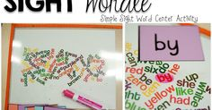 The First Grade Parade: Sight Wordle - Simple Sight Word Center