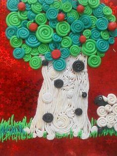 Пластилиновые картины - Поделки с детьми | Деткиподелки