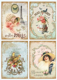 "Vintage Labels Decoupage for ""Flowers of Paris (decoshop)"". Discussion on LiveInternet - Russian Service Online Diaries - Images Vintage, Vintage Tags, Vintage Labels, Vintage Ephemera, Vintage Pictures, Vintage Postcards, Vintage Prints, Vintage Photographs, Decoupage Vintage"