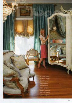 Annie Brahler....gorgeous.love the window treatment!