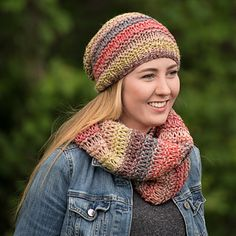 Ravelry: Bridgewater Drop Stitch Hat - Slouchy & Fitted pattern by Thimble Lane Design