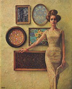 1960s fashion shoot