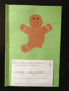 A great idea for procedural writing en francais! Christmas Writing, Christmas Poems, French Christmas, Winter Activities, Christmas Activities, Procedural Writing, Education And Literacy, Core French, French Classroom