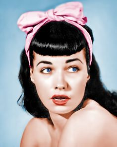 Bettie Page. this photo always has such a vulnerability