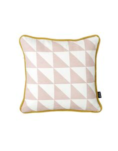 Little geometry rose cushion
