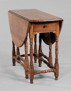early southern gateleg table