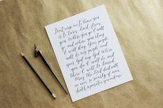 Custom Calligraphy Wall Art // Handwritten Quote or Verse // 8x10 by ExquisiteSquid on Etsy https://www.etsy.com/listing/234848054/custom-calligraphy-wall-art-handwritten