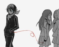 """""""Be careful Yato. Once a bond is cut you better get rid of it. Or it'll choke you."""" ~ Nora"""