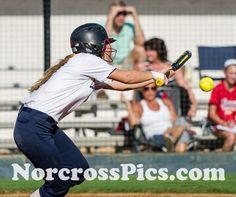 Norcross Softball against Brookwood.