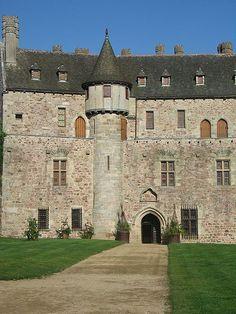 Château de la Roche-Jagu, Ploëzal, Côtes-d'Armor, Bretagne, France