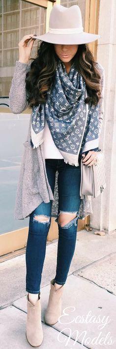 Fall Cardigan // Fashion Look by Emily Ann Gemma