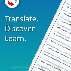Reverso translate and learn App Reviews & Download - Reference App Rankings! Learning Italian, Best Apps, Learn French, New Words, Looking Up, Sentences, Vocabulary, Language, My Love