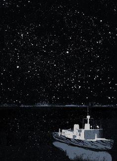 The Arctic Circle by Jun Cen, via Behance