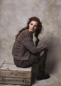 "Counting Stone Sheep - ""Winter Drift"" for Rowan Yarn @ English Yarns Online Store Hand Knitting, Knitting Patterns, Knitting Sweaters, Big Wool, Rowan Yarn, How To Purl Knit, Knit Purl, Knit Fashion, Sweater Weather"