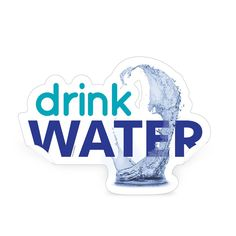 Decorate your walls while promoting a healthy habit with the Drink Water Die-Cut Decal from Learning ZoneXpress!