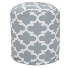 Trellis Pouf Outdoor Indoor by Majestic Home Goods   Overstock.com Shopping - The Best Deals on Ottomans
