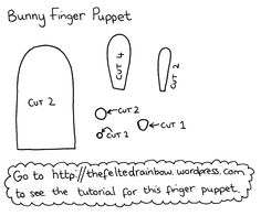 Images For > Finger Puppets Templates