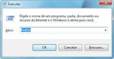 Comandos para usar no executar do Windows