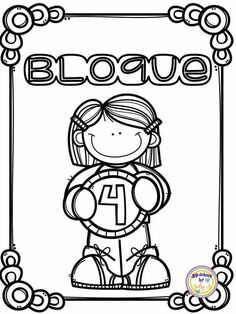 Coloring Pages For Kids, Coloring Books, Kindergarten Math, Preschool, Front Page Design, School Frame, Borders And Frames, School Projects, How To Draw Hands