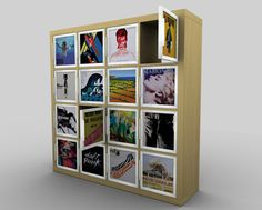 Kickstarter to create doors for the Ikea Expedit bookshelp that would fit vinyl records. I don't have a lot of vinyl records but this would be nice just for an enclosed shelf system