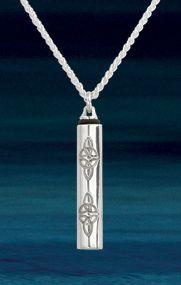 Pendants & Necklaces - Eternal Knot Vial Pendant