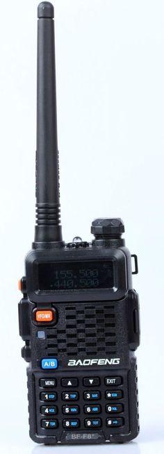 BaoFeng BF-F8+ Portable Radio Scanner 2Way Digital Transceiver Police EMS Fire #Baofeng