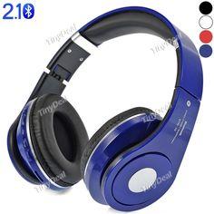 OVLENG STN-10 Bluetooth 2.1 Foldable Headset Headphone with Mic FM TF Slot EEP-375463