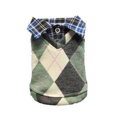 Stylish Retro Dog Sweater Dog Coat Dog Shirt Cozy Pet Dog Clothes Free Shipping,Gray,L « Pet Lovers Ads