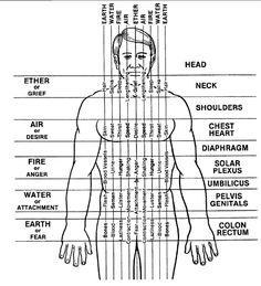 Polarity Therapy - Chart