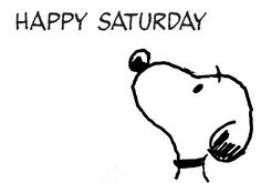 Snoopy..Saturday!