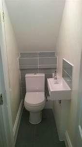 under stairs bathroom under the stairs bathroom ideas under stairs water closet small downstairs bathroom ideas Small Downstairs Toilet, Small Toilet Room, Downstairs Cloakroom, Small Half Bathrooms, Tiny Bathrooms, Small Bathroom, Master Bathroom, Billard Design, Understairs Toilet