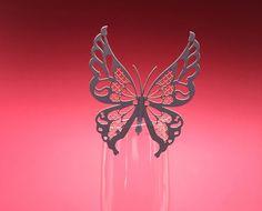 Ornabicchiere farfalla