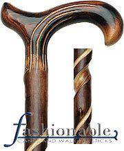 Mens Wood Canes & wooden Walking Canes for Men | FashionableCanes.com