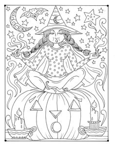 Cats In The Cradle Lyrics Refferal: 9401808695 Witch Coloring Pages, Coloring Pages For Grown Ups, Halloween Coloring Pages, Printable Adult Coloring Pages, Fairy Coloring, Coloring Books, Coloring Sheets, Kids Coloring, Halloween Pictures