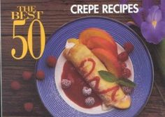 Delectable fillings and sauces follow more that a dozen crepe recipes. Including complete instructions for preparing, cooking, storing and serving crepes.