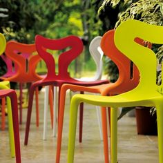 Area51 Plastic Outdoor Chair from Calligaris