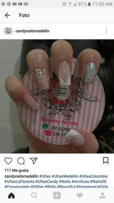 Finger, Elegant Nails, Beautiful Nail Designs, Perfect Nails, Beauty Nails, Make Up, Nail Art, Hair, Nail Arts