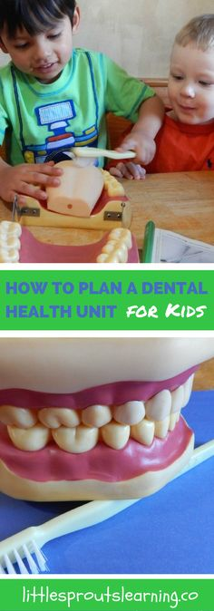 How can you get your kids to understand the importance of taking care of their teeth? Sometimes it's hard to teach dental hygiene to young kids.