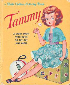 Tammy Little Golden Book by wolfandwillow, via Flickr