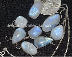 WELCOME TO THE HUB OF GEMSTONE JEWELLERY by JAIPURJEWELLERYSSHOP Moonstone Necklace, Moonstone Pendant, Birthstone Necklace, Silver Chain Necklace, Crystal Jewelry, Gemstone Jewelry, Silver Jewelry, Unique Jewelry, Layered Necklace Set