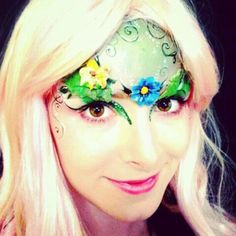 Fairy Makeup | pauseforasecond:Had some fairy makeup done today by BodyFX! I think I ...
