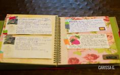 recipe book (lowercase letters)