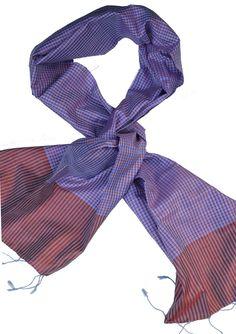Sreyneang - Scarves from Cambodia - Handmade Silk Scarf from Cambodia (KRFS106), £39.90 (http://www.sreyneang.co.uk/handmade-silk-scarf-from-cambodia-krfs106/)